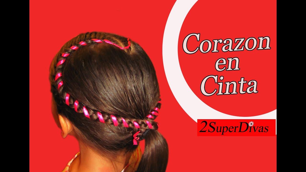 Peinados infantiles en forma de corazon pajecita trenzas for Decoraciones para el pelo