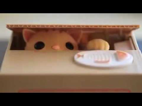 Greedy Cat Coin Bank