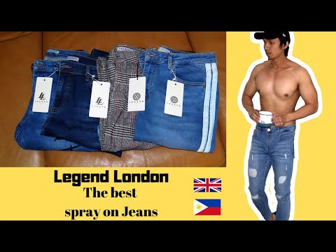 The Best Spray On Jeans (Legend London Haul) + Giveaway