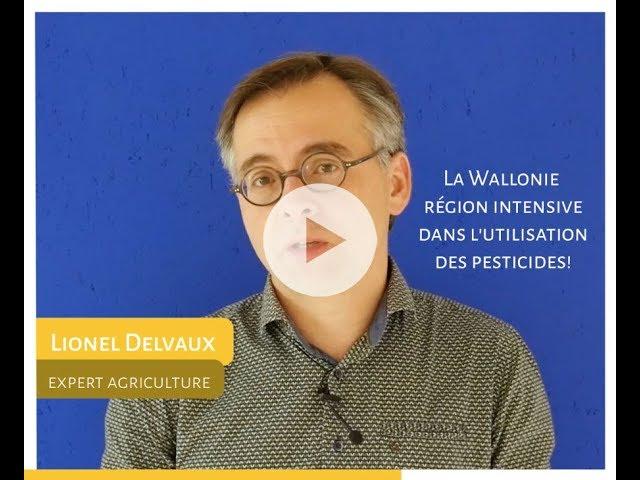 La Wallonie région intensive dans l'utilisation des pesticides