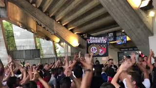 PSG CAEN ambiance d'avant match