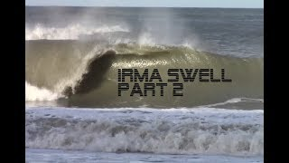 SurfAllDayA1A   Surfing Hurricane Irma   The Morning After Session 2