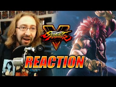 MAX REACTS: Akuma Reveal (Street Fighter 5)