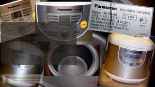 Мультиварка Panasonic SR TMH18LTW  Видео обзор