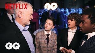 Stranger Things | GQ Men of the Year Awards 2017 | Netflix