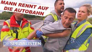 Verwirrter Mann auf der Autobahn | Auf Streife - Die Spezialisten | SAT.1 TV