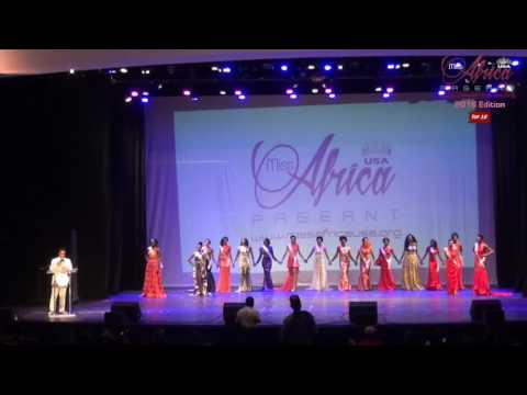 Miss Africa USA 2016 Top 10 Selection