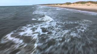 Phantom 3 Pro - Liseleje beach - Chasing Waves and sunset