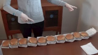 10 Filet-O-Fish Burger Challenge!