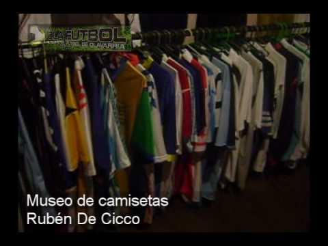 El museo de camisetas De Cicco.wmv - YouTube 98a99ca51fdfd