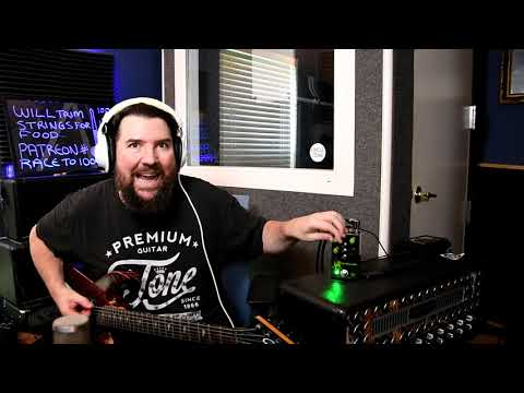"""Riffing Sepultura!  Featuring the Brazilian """"Mud Killer"""" pedal."""