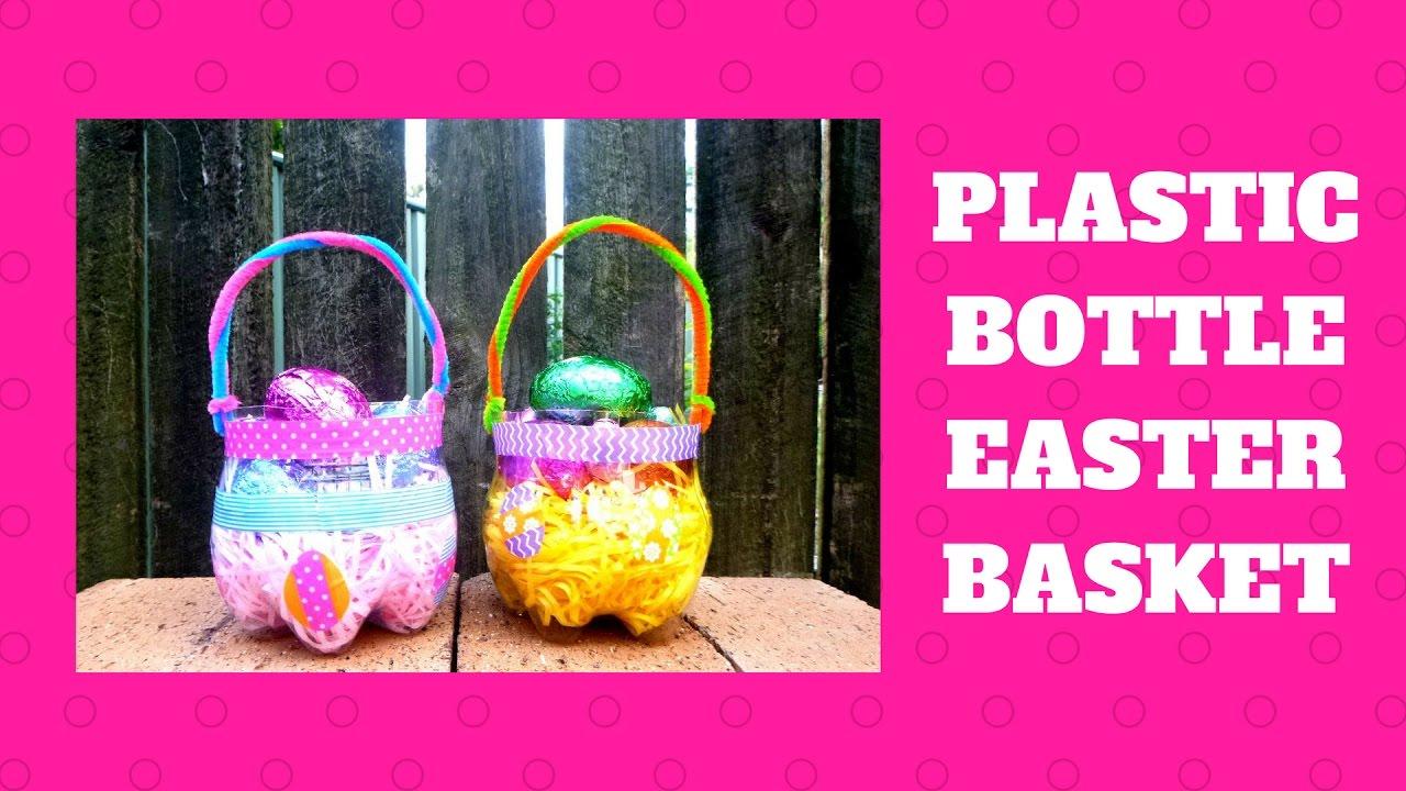 Plastic Bottle Easter Basket - Easter Crafts