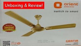 Orient Ceiling Fan - Unboxing & Review!