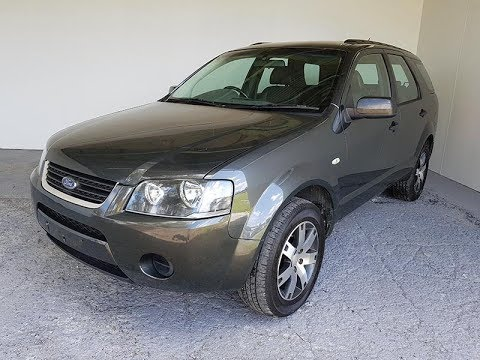 Automatic 7 Seat SUV Ford Territory 2008 Review For Sale