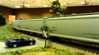 Ohio Valley Sipping & Switching Society 123 Car Ann Arbor Railroad Freight