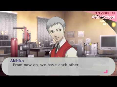 P3P Akihiko Social Link [Star] 10 MAX Romance