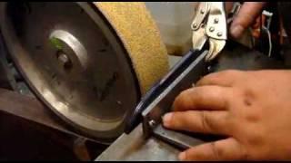 Изготовление ножа. часть 3