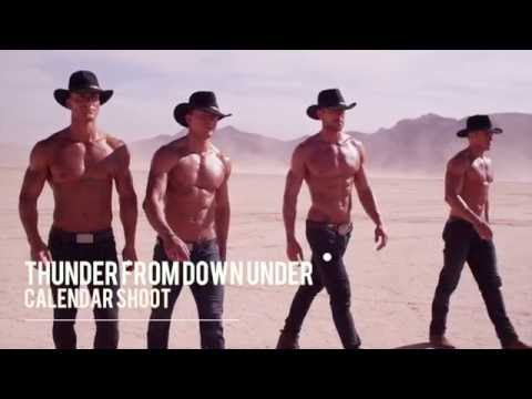2017 Calendar Promo Australia's Thunder From Down Under