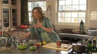 New Tracy Porter Cooking Video... Quinoa Edamame Tabbouleh