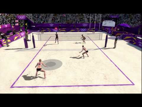 London 2012 Official Olympic Video Game - Beach Volleyball Qualifying
