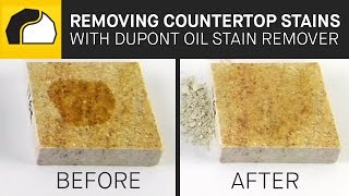 DuPont Oil Stain Remover for Natural Stone Countertops | MrStone.com