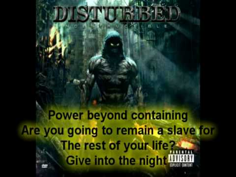Disturbed - The Night - (A / Lyrics)