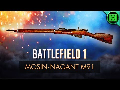 Battlefield 1: Mosin-Nagant M91 Review (Weapon Guide) | New BF1 DLC Weapons | BF1 PS4 Gameplay