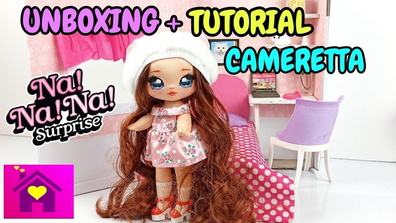 Unboxing Na Na Na Surprise serie 2+ tutorial cameretta per bambole