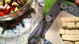 Греческий салат (Хориа́тики)