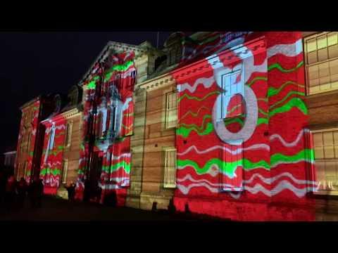 Dunham Massey Christmas Lights Trail 2019