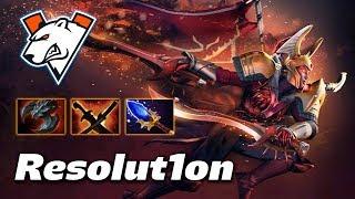 Resolut1on Legion Commander - VIRTUS PRO - Dota 2 Pro Gameplay