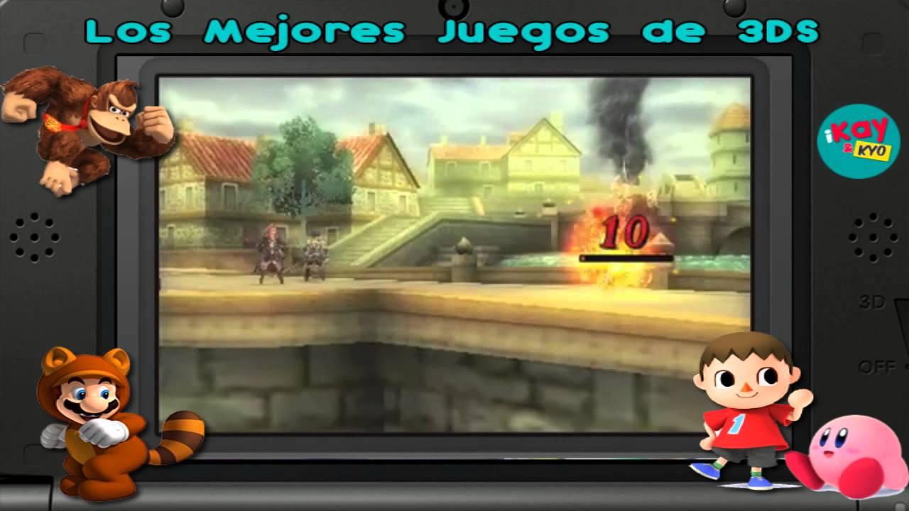 Ikay Los Mejores Juegos Para El Nintendo 3ds Reedicion 6 2 Youtube
