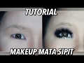 Part2 Tutorial Makeup Mata Sipit Cara Pasang Bulu Mata Cara Pakai Eyeshadow Smokey Eyes