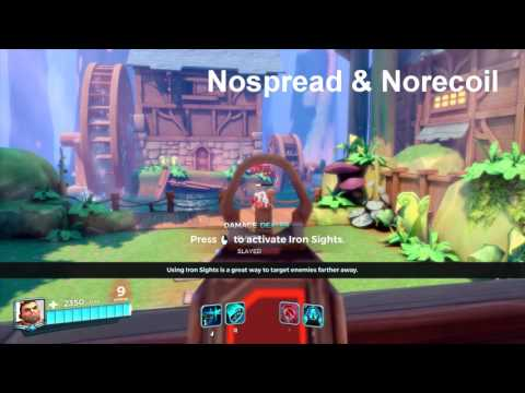Paladins - SuperSimpleHack + EAC bypass (Triggerbot, wallhack, nospread, norecoil)   TUTORIAL & PLAY