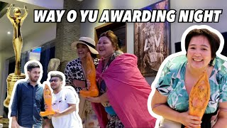 WAY O YU AWARDING NIGHT!!! | Samsolese ID