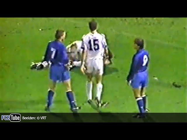 1990-1991 - Jupiler Pro League - 13. Racing Genk - Club Brugge 2-1