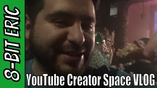 YouTube Creator Space Austin VLOG | 8-Bit Eric