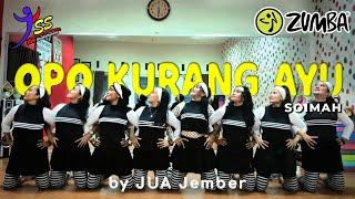 Download Lagu HipHop Jawa - Opo Kurang Ayu - Soimah / Zumba /Choreo by Zin JUA_Jember mp3