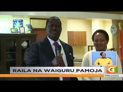 Ann Waiguru asimamisha kesi dhidi ya Raila