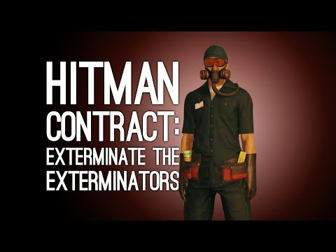 Hitman Contract: EXTERMINATE THE EXTERMINATORS - Animal Rights Project Contract (Let's Play Hitman)