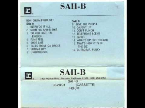 SAH-B - UNORTHODOX ( Ultra Rare 1994 NJ Rap )