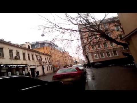 Journey to the center of Moscow. Trubnaya street - Kolokolnikov pereulok. march  2017