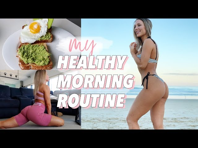 0d837e5ef82549 MY HEALTHY MORNING ROUTINE | Habits for Mental Health, Motivation & Fitness!