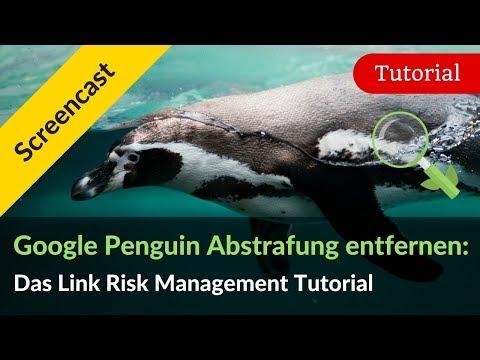 Google Penguin Abstrafung erkennen & entfernen: Das Link-QM Tutorial
