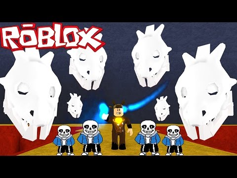 Roblox Adventures / Undertale / UNDERTALE BOSS BATTLES! SANS