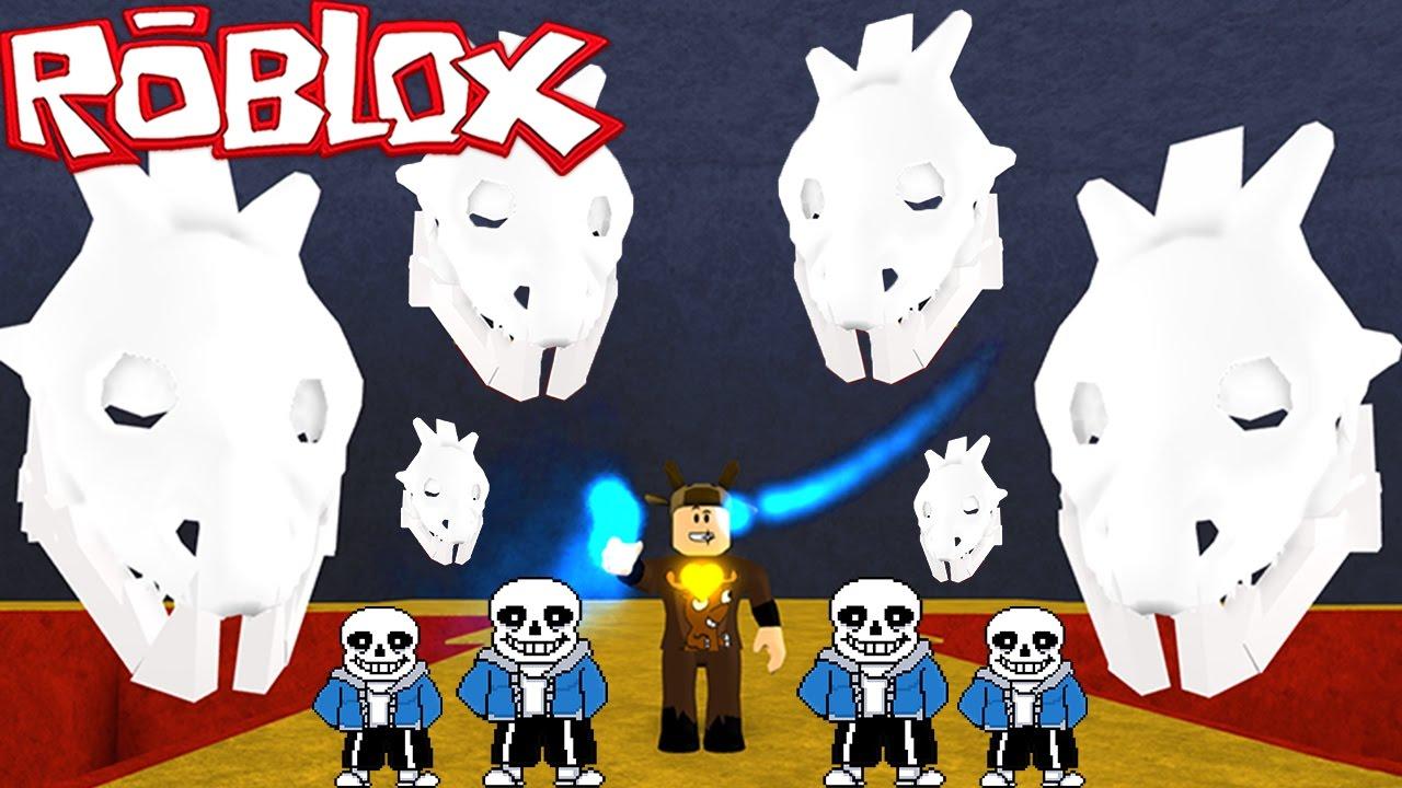 Roblox Adventures / Undertale / UNDERTALE BOSS BATTLES! SANS & MORE!