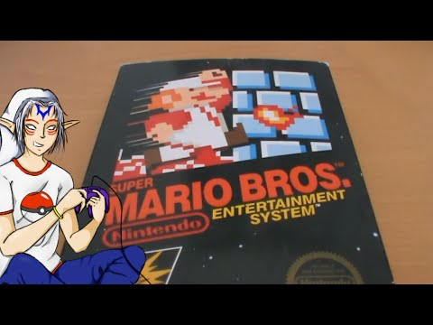 Super Mario Bros. NES Unboxing