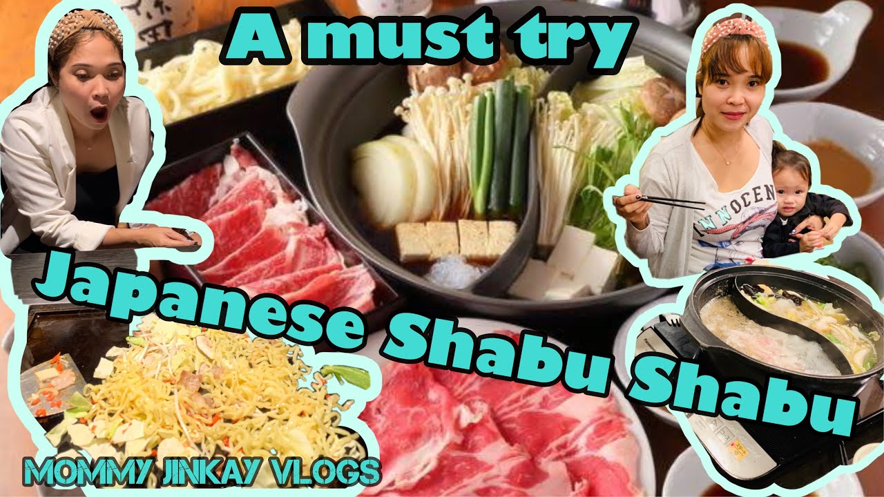 must try japanese shabushabufood vlog  youtube