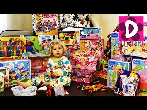Подарки на Новый Год и на День Рождения YouTube