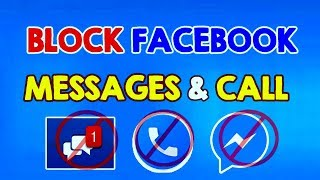 How to Block Facebook Messages or Facebook Calls on Facebook Messenger (Facebook TRICKS)